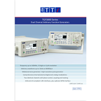 GF3000 series function arbitrary generators data sheet
