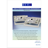 TGP3100 series pulse generator data sheet