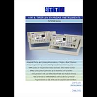 TGP3100 series pulse generator data sheet