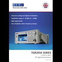 new TGR2050 Series Datasheet