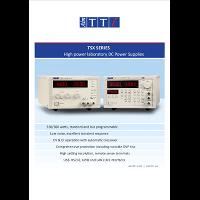 TSX Series DC power supplies data sheet