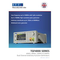 Aim-TTi TGF4000 data sheet