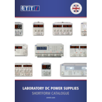 Power Supplies Shortform Catalogue