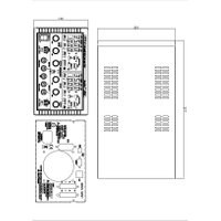 CPX400DP mechanical drawing