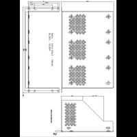 RM310 Rack Mount Kit Mechanical Drawing