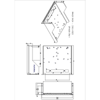 RM420 Rack Mount Kit Mechanical Drawing