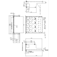 RM450A Rack Mount Kit Mechanical Drawing