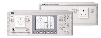 EMC mains harmonics analyzer and AC Power Source