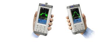Hand-held RF spectrum analyzers