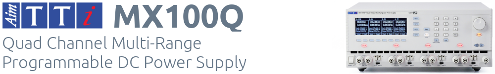 MX100Q quad channel power supply - click to find out more