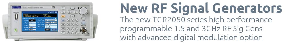 New TGR2050 series