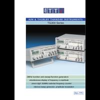 TG300 Series function generators datasheet