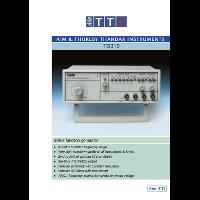 TG310 function generator datasheet