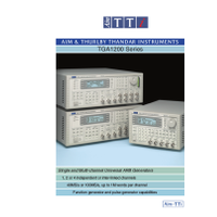 TGA1240 Series arbitrary waveform generator datasheet