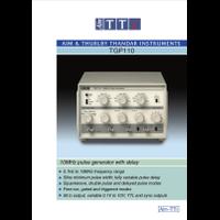 TGP110 pulse generator datasheet