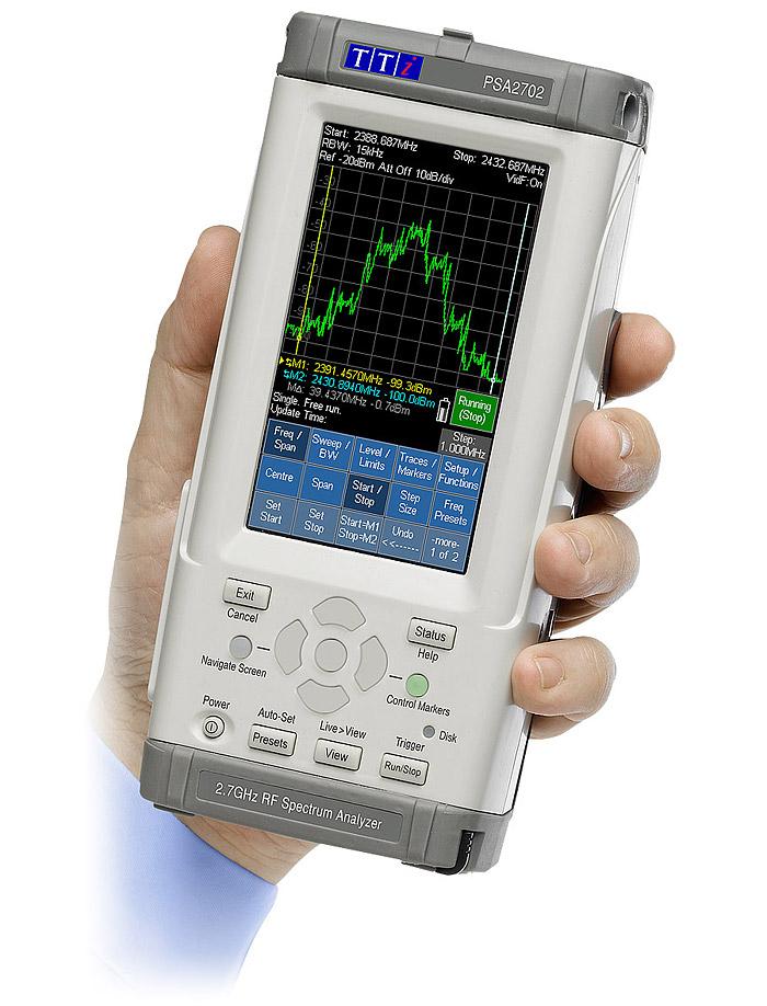 PSA Series 2 Spectrum Analyzers   Aim-TTi International