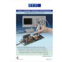 I-prober current probe datasheet