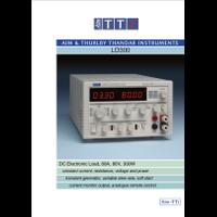 LD300 Electonic load datasheet