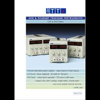 EL-R and EX-R DC power supply data sheet thumbnail