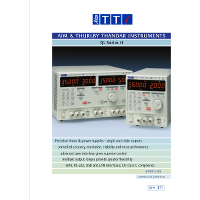 QL Series II DC power supply datasheet