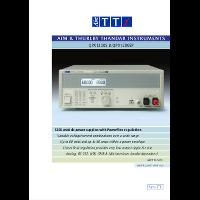 QPX Series DC power supplies datasheet