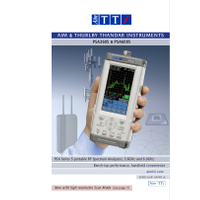 PSA Series 5 spectrum analyzers datasheet