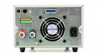 Aim-TTi QPX750SP Bench /System DC Power supply - back panel with optional GPIB fitted