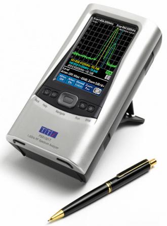 PSA1301T hand-held spectrum analyzer