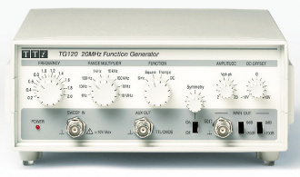 Aim-TTi TG120 20MHz Dial-Set Analog Function Generator